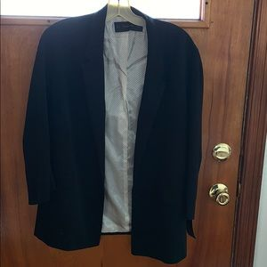 Black everyday blazer from Zara.
